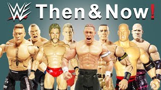 Brock Lesnar, Chris Jericho, John Cena, Kane and more!: WWE Then & Now