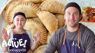 Brad and Gaby Make Beef Empanadas | It's Alive | Bon Appétit