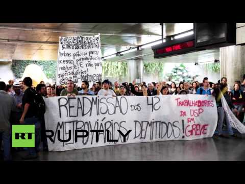 Brazil: Students decry dismissal of 42 striking subway workers
