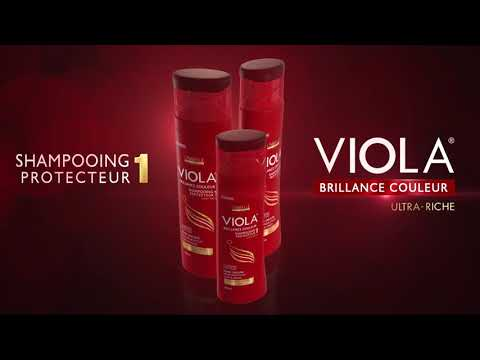 SHAMPOING PROTECTEUR VIOLA #FILTRE UVA/UVB