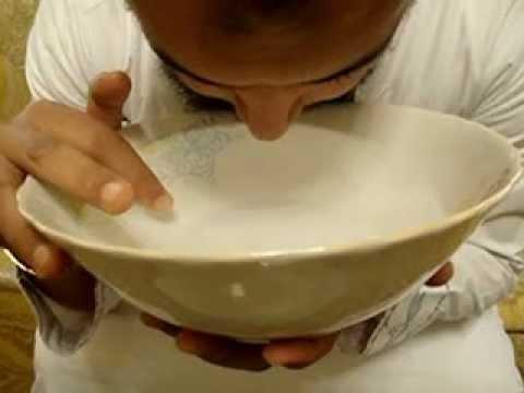 تعلم كيف تضع اصبعك اثناء تجهيز ماء ابطال السحر مع الراقي المغربي نعيم ربيع