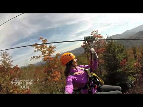Autumn Adventure on the Mountaintop Zip Line Tour