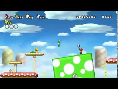 Official New Super Mario Bros. [HD] Nintendo Wii launch trailer Mario release date +  Peach & Bowser