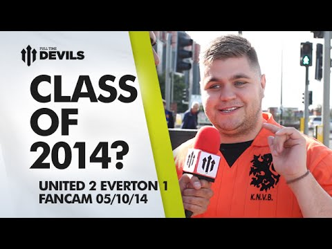 Class of 2014? | Manchester United 2 Everton 1 | FANCAM