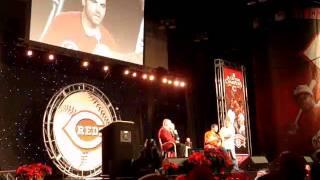 Joey Votto receives Cincinnati Reds Ernie Lombardi Team MVP award