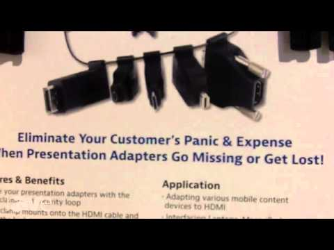 CEDIA 2013: Liberty AV Solutions Talks About the Universal HDMI Adapter Ring