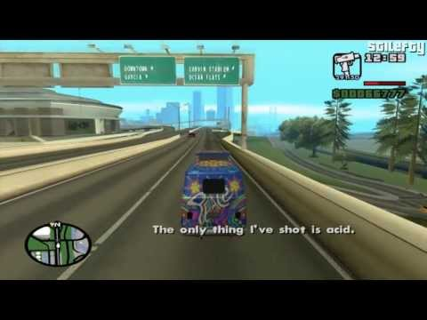 GTA San Andreas - Mission #37 - Are you going to San Fierro?