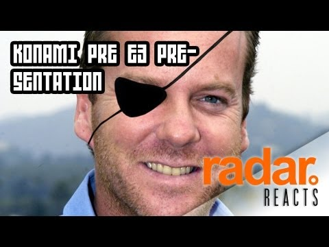 Konami Pre E3 Presentation - Radar Reacts