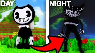 DO NOT PLAY WITH BENDY AND THE INK MACHINE IN MINECRAFT