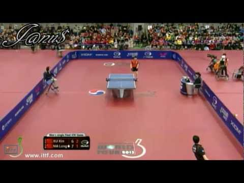 2013 Korea Open (ms-final) XU Xin - MA Long [Full Match/Short Form]