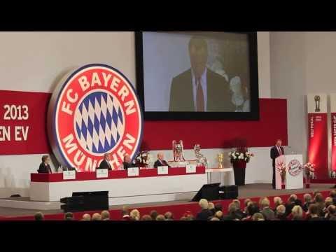 Uli Hoeneß bricht bei der FC Bayern Jahreshauptversammlung in Tränen aus!  HD