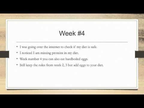 6 Week Diet - lose 15 kg (33 pounds)