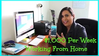 """""""How To Work From Home"""" Online Jobs 2017!"""