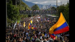 ||LIVE COLOMBIA||  Indigenous & students hold anti-government march in Bogota