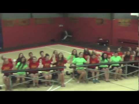 Campers and Instructors from CRC Irish Dance Summer Camp 2012 perform Call me Maybe.