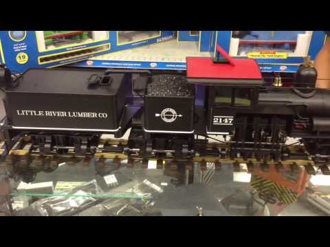 Bachmann Spectrum 1:20.3 Large Scale 55 Ton 3-Truck Shay- DCC AND SOUND! TrainWorldTV