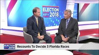 Dr. Matthew Corrigan breaks down the recounts to 3 Florida races