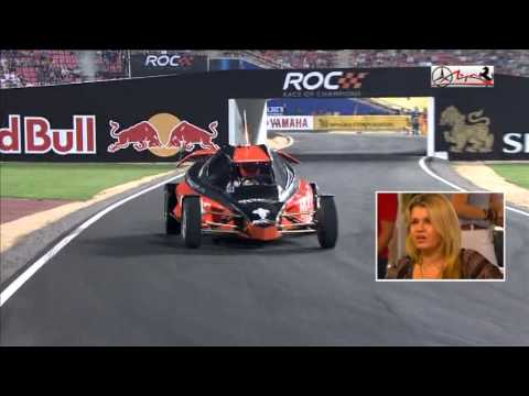 ROC 2012 Nations Cup - Michael SCHUMACHER vs Narain KARTHIKEYAN