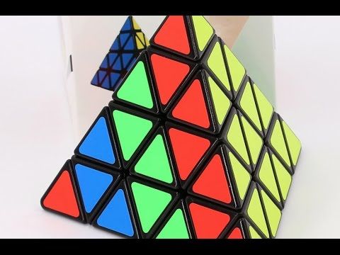 Pyraminx 4x4 - Unboxing. Review y Solve! - Soletta