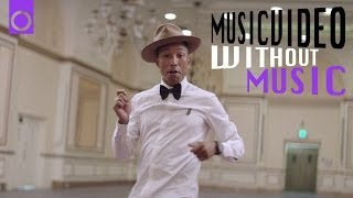 Pharrell Video - Happy - Pharrell Williams (#withoutmusic) #HAPPYDAY