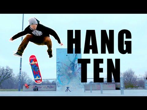 HANG TEN HARDFLIP