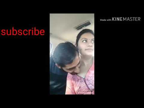 Desi girl kissing in car | boy friend | smooch | beautiful | hot | kiss | sexy | college girl thumbnail