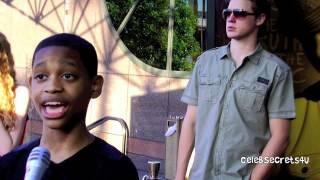 Tyrel Jackson Williams Interview-