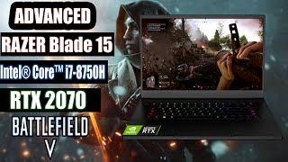 Razer Blade 15 Advanced + RTX 2070 |  Battlefield 5