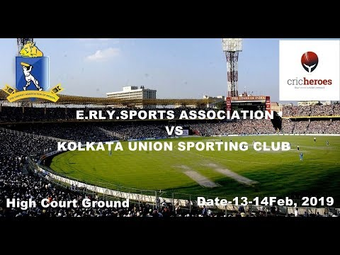 Live Cricket Match | E.RLY.SPORTS ASSOCIATION (CAB18) vs KOLKATA UNION SPORTING CLUB (CAB18) | 1...