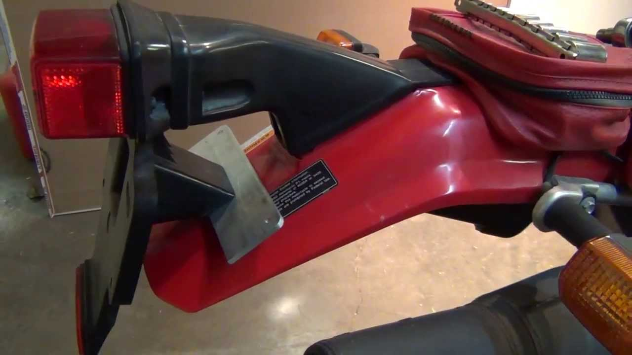 Honda XR650L Mods: License Plate Mount - YouTube