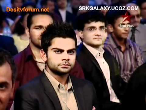 Shahrukh Khan~Sahara India Sports Awards 4th December 2010(pt2)