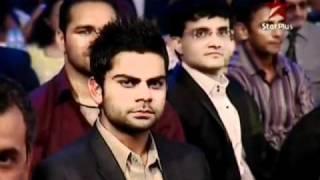 Shahrukh Khan~Sahara India Sports Awards 4th December 2010(pt2)
