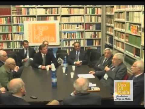 """""""Riforme costituzionali ed elettorali. Cambia la forma di Governo?"""" Cenacolo della Fondazione Ugo La Malfa  del 29 aprile 2015 parte 1/3"""