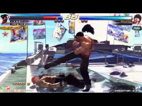 TEKKEN TAG2 UL 12/30 KNEE VS HAO 2- TEKKEN GOD