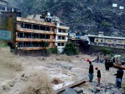 Flood In River Swat At Behrain video