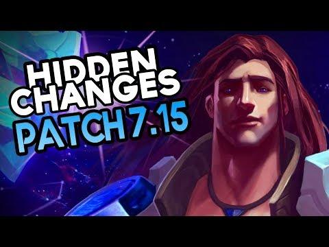 Hidden Buffs & Nerfs in Patch 7.15 (League of Legends)