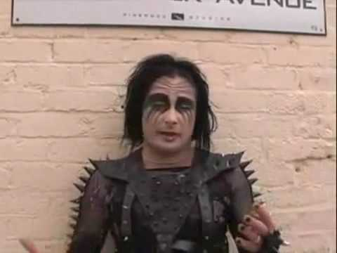 Cradle Of Filth - Behind The Scenes Of The Death Of Love Music Video