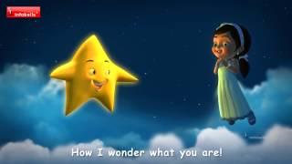 """Bé vui học tiếng anh với bài hát """"Twinkle Twinkle Little Star"""" có đủ nhạc và lời (hát karaoke)"""