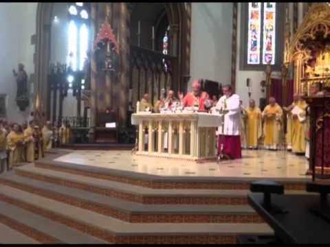 Mass of Welcome to Cardinal Vincent Nichols