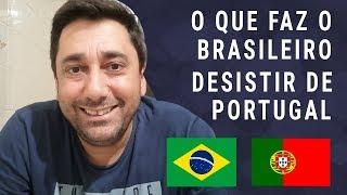 Porque os brasileiros estão voltando de Portugal