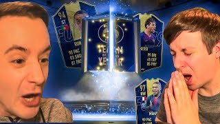 OMFG I DIDN'T PACK TOTY RONALDO!!! - FIFA 19 ULTIMATE TEAM OF THE YEAR PACK OPENING