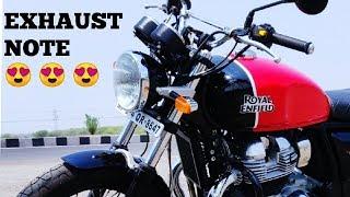 Interceptor 650   walk around   Exhaust note   The Rider Soul