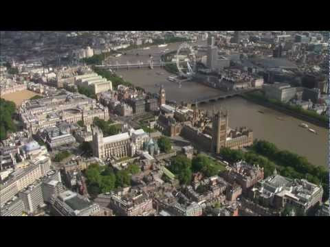 AWESOME AERIAL shots of London, UK [HD]