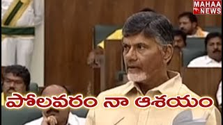 Completing Polavaram Is My Life Ambition Says CM Chandrababu