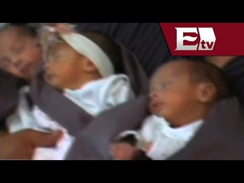 Nacen cuatrillizos en Salamanca, Guanajuato / Vianey Esquinca