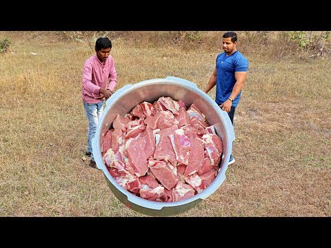 NEVER SEEN EASIEST GOAT MEAT CURRY | FASTEST COOKING MUTTON CURRY RECIPE |