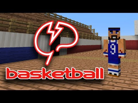 Minecraft Basketball with Mindcrack!
