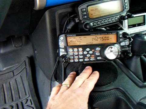 Amateur radio mobile mount hardware