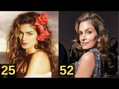 Cindy Crawford | From 7  to  52 Years Old