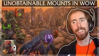 """Asmongold Reacts to """"Every Unobtainable Mount in World of Warcraft"""" by MadSeasonShow"""